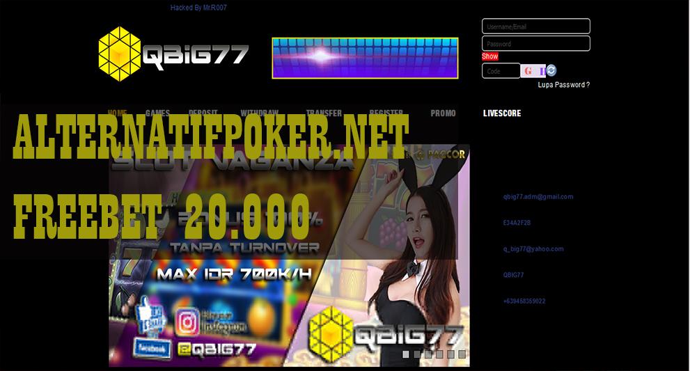 Info Qbig77 Freebet Slot Rp 20 000 Tanpa Deposit