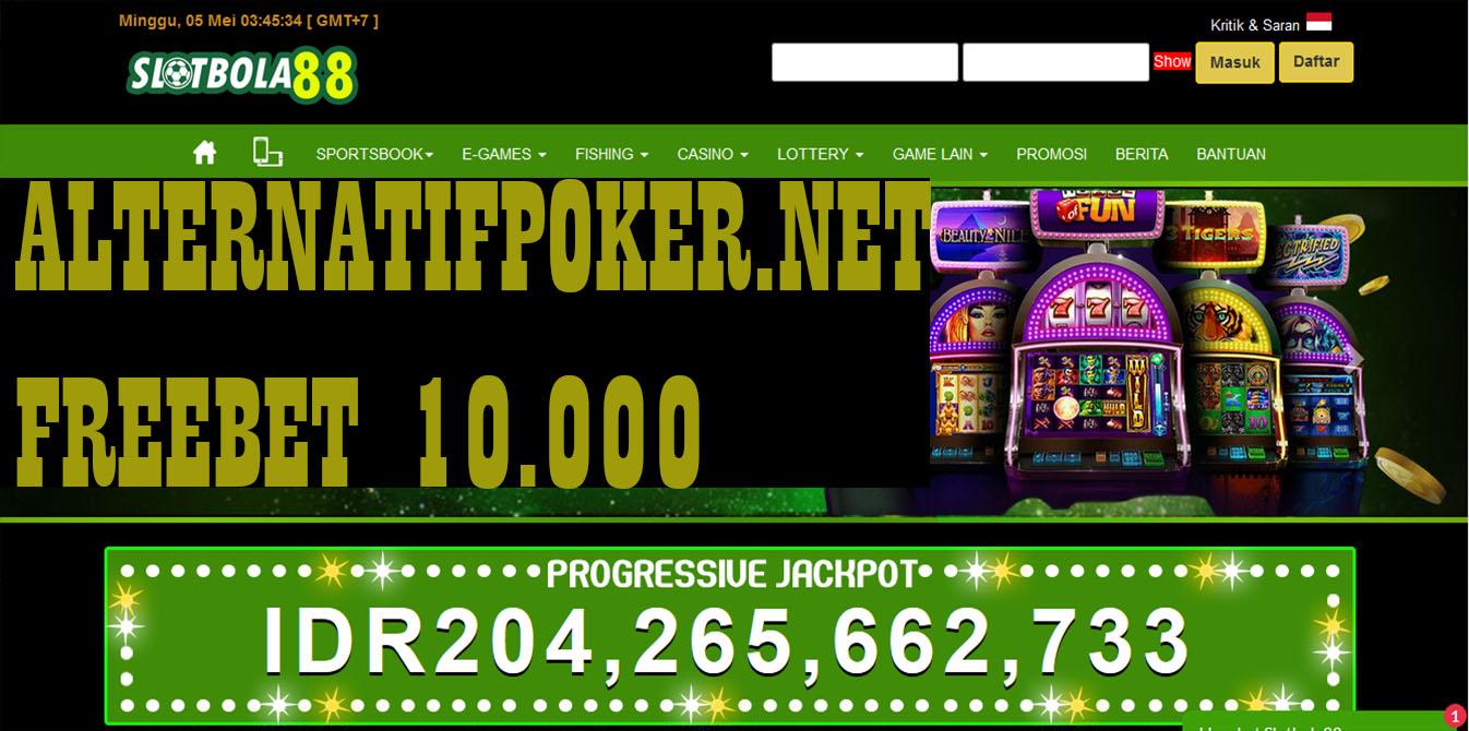 Info SlotBola88 Freebet Gratis Rp 10.000 Tanpa Deposit